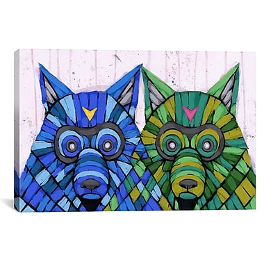 iCanvas ''Two of a Kind'' by Ric Stultz Graphic Art on Wrapped Canvas; 27'' H x 41'' W x 1.5'' D