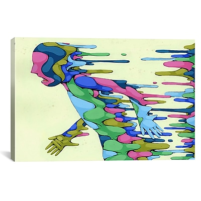 iCanvas Going Through It by Ric Stultz Graphic Art on Wrapped Canvas; 12'' H x 18'' W x 0.75'' D