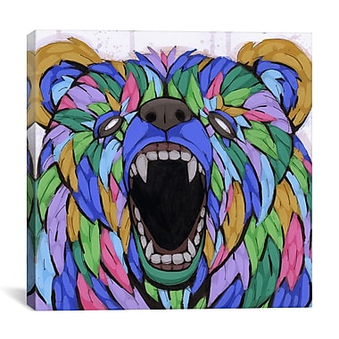iCanvas Coming on Strong by Ric Stultz Graphic Art on Wrapped Canvas; 18'' H x 18'' W x 0.75'' D