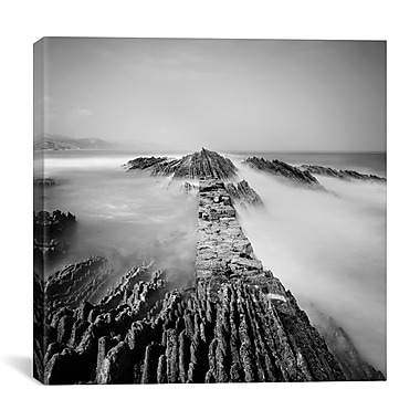 iCanvas Zumaia by Nina Papiorek Photographic Print on Wrapped Canvas; 18'' H x 18'' W x 0.75'' D