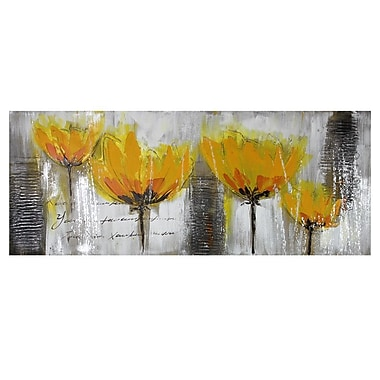 Entrada Yellow Flowers Painting