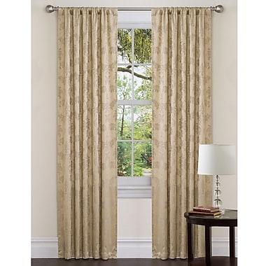 Lush Decor Dorchester Single Curtain Panel; 54'' W x 84'' L