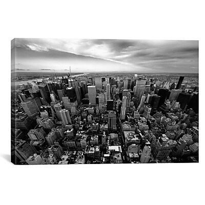 iCanvas New York City Uptown by Nina Papiorek Photographic Print on Wrapped Canvas
