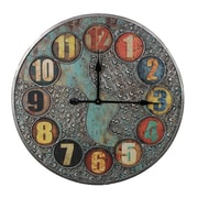 Entrada Oversized 23.6'' Metal Wall Clock