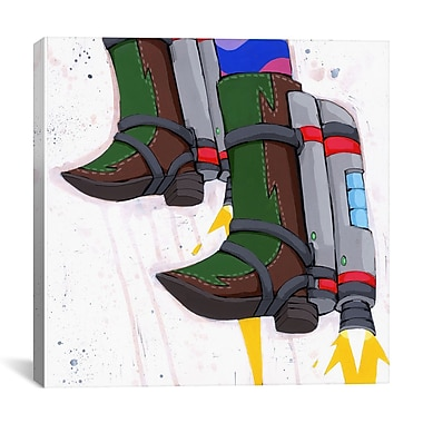 iCanvas Future Will be Awesome by Ric Stultz Painting Print on Wrapped Canvas