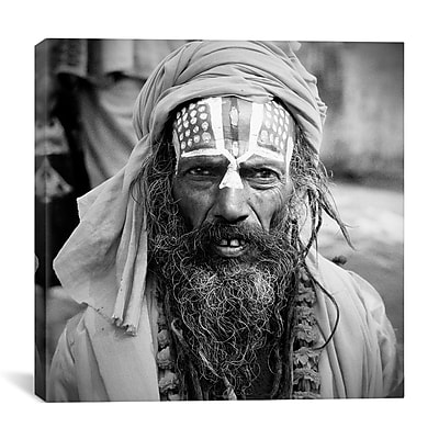 iCanvas Nepal Saddhu I by Nina Papiorek Photographic Print on Wrapped Canvas