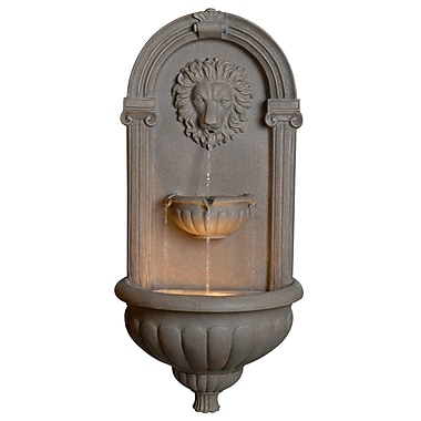 Kenroy Home Concrete Regal Wall Fountain