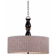 "Kenroy Home 21"" 3 Light Drum Pendant"