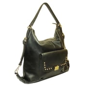 "Lithyc™ 12"" x 12 1/2"" x 4"" ""Jezebel"" Shoulder Bag/Backpack, Black"