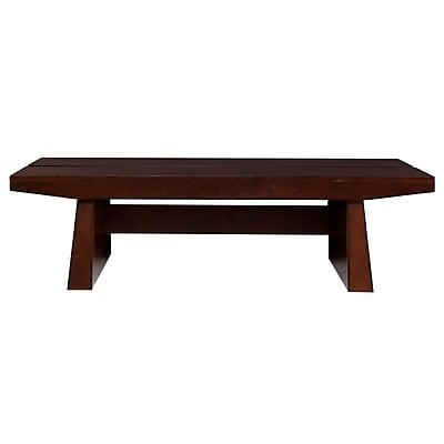 SEI Capistrano Wood/Veneer Cocktail Table, Espresso, Each (CK0920)