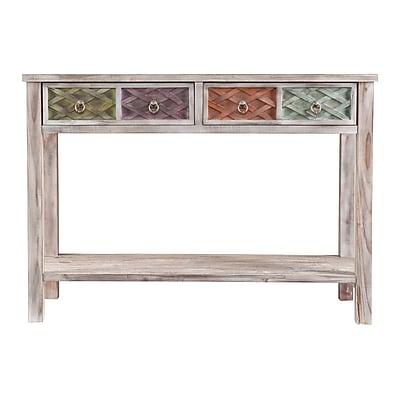 SEI Wood Console Table, Multicolor, Each (CK5963)