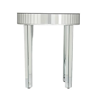 SEI Glass Sets Table, Silver, Each (OC4023)