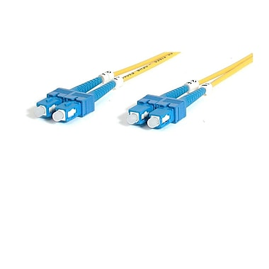 StarTech® 2m Single Mode Duplex Fiber Patch Cable SC-SC