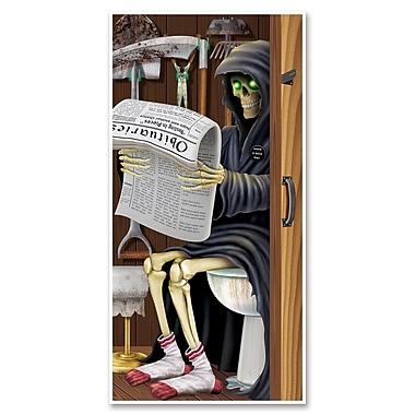Grim Reaper Restroom Door Cover, 30