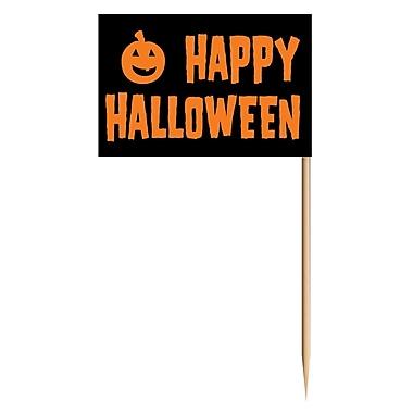 Petits bâtons Happy Halloween, 2 1/2 po, paq./250