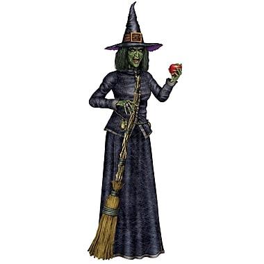 Grande sorcière articulée, 6 pi, paq./2