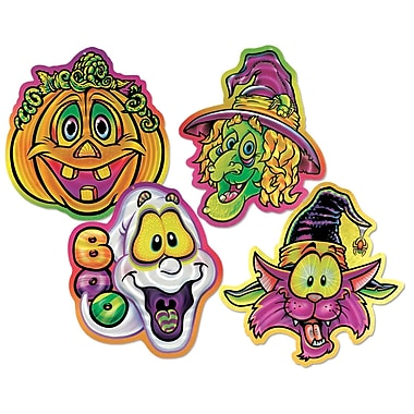 Halloween Pals Lazer Etched Wall-Plaques, 14