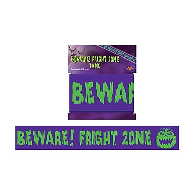 Beware! Fright Zone Party Tape, 3