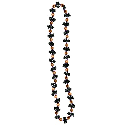 Beistle Bat Beads Necklace, 36