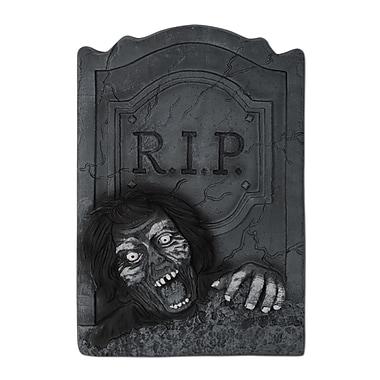 Pierre tombale RIP zombie, 21 x 13 1/2 po, paq./2