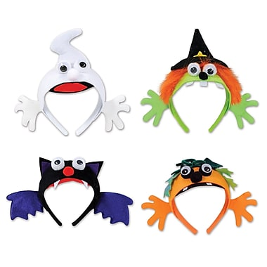 Halloween Headbands, One size fits most, 12/pack