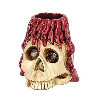 Crâne porte-bougie, 6 oz, paq./3