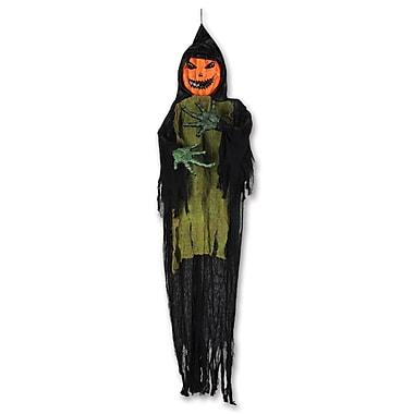 Pumpkin Ghoul Creepy Creature, 7' 4