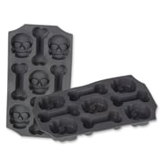 Skull and Bones Ice Mold, 3/pack