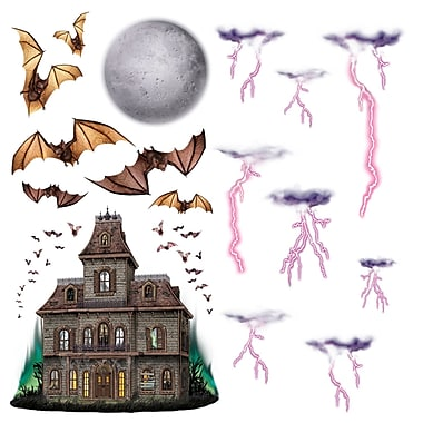 Haunted House and Night Sky Props, 7