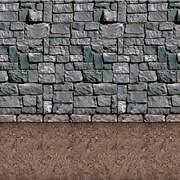 Beistle 4' x 30' Dirt Floor Backdrop