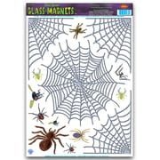 """Beistle 12"""" x 17"""" Spider Web Clings, 98/Pack"""