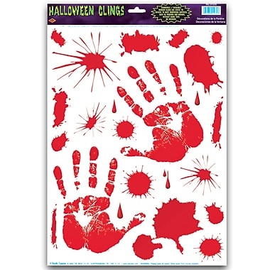 Bloody Handprint Clings, 12