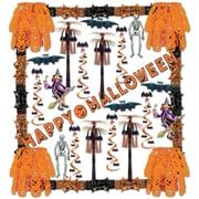 Beistle 34 Piece Halloween Reflections Decorating Kit
