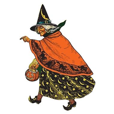 Découpes sorcière traditionnelle, 19 po, paq./3
