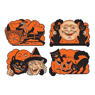 Old Time Halloween Cutouts, 9