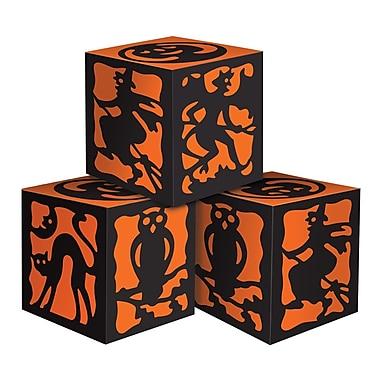Boîtes de faveur Halloween, 3 1/4 x 3 1/4 po, paq./6