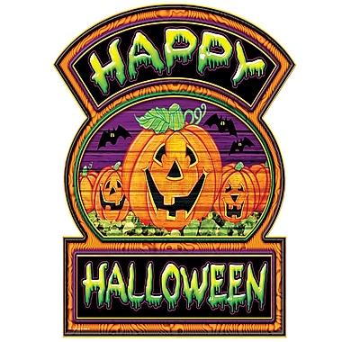 Happy Halloween Sign, 12