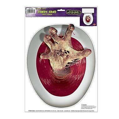 Peel'N Place – Couvre siège de toilette main, feuille de 12 x 17 po, paq./4