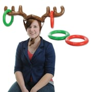 "Beistle 27"" & 7 1/4"" Inflatable Reindeer Ring Toss, 2/Pack"