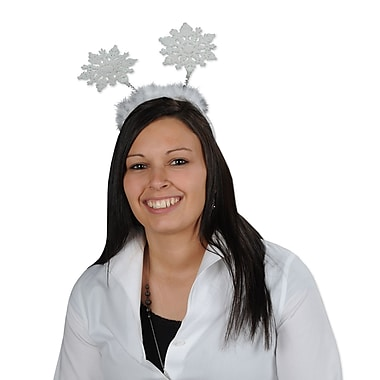 Beistle Glittered Snowflake Boppers