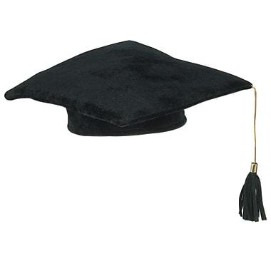 Chapeau molletonné remise des diplômes, 10 po, 3 par paquet