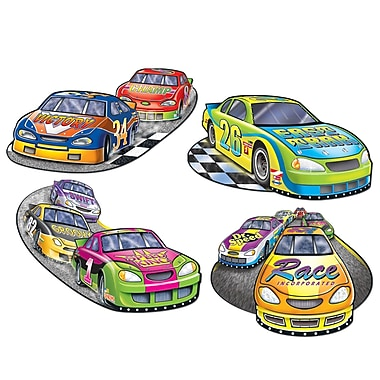 Printed Racing Cutouts, 16