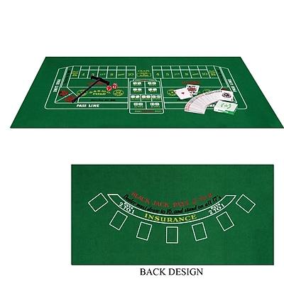 Beistle Blackjack Craps Game Set 1065853