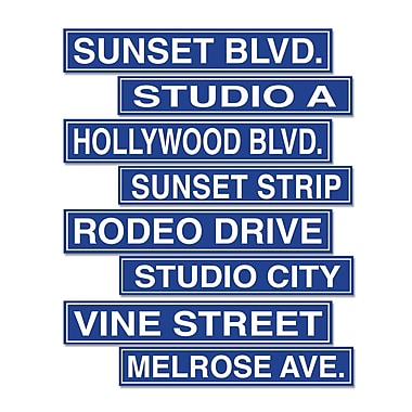 Hollywood Sign Cutouts, 4