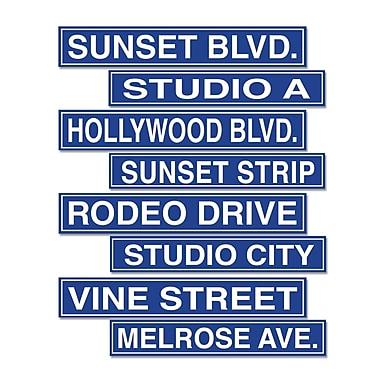 Découpes panneaux Hollywood, 4 x 24 po, 12/paquet