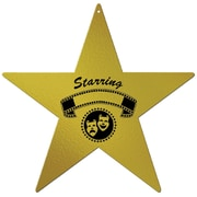 "Beistle 12"" Awards Night Star Cutouts, 6/Pack"