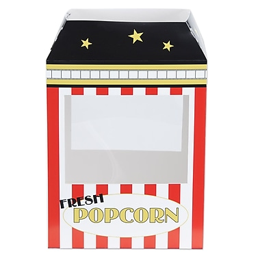 Popcorn Machine Centerpiece, 15-1/4