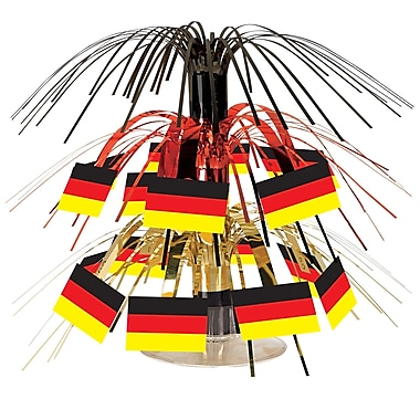 German Flag Mini Cascade Centerpiece, 7 1/2