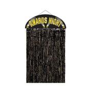 "Beistle 4' 6"" x 3' Awards Night Door Curtain, 2/Pack"