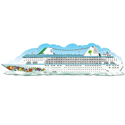Beistle 6' Jointed Cruise Ship, 2/Pack 1065821